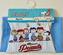 New Peanuts Gang Apron Featuring All Of Your Favorite Peanuts Character