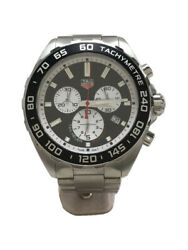 Tagheuer Quartz Watch/analog/stainless/blk/slv/formula 1/instructions Coma With