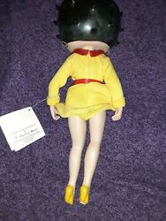 Rare Betty Boop Porcelain Collector Doll