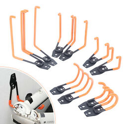 10 Pack Heavy Duty Garage Double Hooks Utility Square Wall Hooks Round Wall Hook