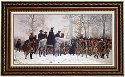 Eliteart-the March To Valley Forge George Washington And The Veterans Of His By