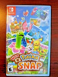 Pokemon Snap Nintendo Switch 2021 Authentic- Tested - Us Sell - Free Shipping