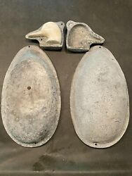 Vintage Cast Aluminum Duck Decoy Mold Antique Hunting Body And Head