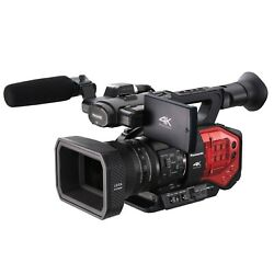 Panasonic Ag-dvx200 4k Camcorder With Four Thirds Sensor And Integrated Zoom Len