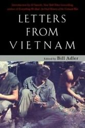 Letters From Vietnam Voices Of War By Jr. Adler, Bill Used
