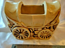 Mccoy Pottery 1960 Elrancho Covered Wagon