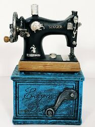 Antique Style Singer Sewing Machine Coin Bank