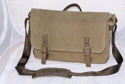 ONA Union Street Ranger Messenger Camera Bag. Waxed canvas with leather trim. $195.00