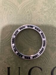 Diamond And Onyx Bezel 5.5 Carats To Fit 40mm Rolex Gmt Master 2