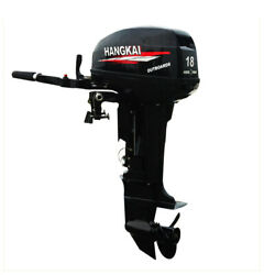 18hp 2stroke Hangkai Outboard Motor Inflatable Fishing Boat Engine Water Cooling