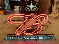 Budweiser Neon Sign Vintage Beer Collectible