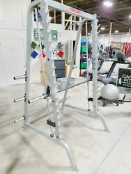 Life Fitness Pro 1 Smith Commercial Plate Loaded Gym Fitness Exercise Machine