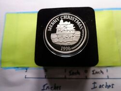 Peanuts Snoopy Charlie Brown Merry Christmas Vintage 999 Silver Coin Case Sharp
