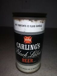 Vintage Carlings Black Label Beer Can Flat Top Cleveland Ohio