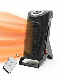 Portable Electric Space Heater Fast Heating Ceramic Adjustable Thermostat Heater
