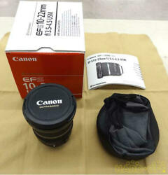 Canon Wide-angle Zoom Lens For Efs10-22mmf3.5-4.5 Usm 51500090