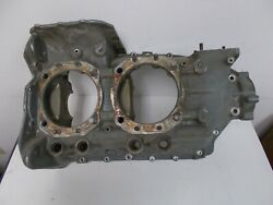 Lycoming O360 Half Engine Crankcase 72081ac Core As Removed Aircraft