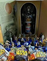 Star Wars A C3po Pepsi Sound Big Bottle Cap, 22 Small Bottle Caps And 2 Clips