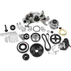 Holley 20-191 Ls Premium Mid-mount Race Accessory Drive Kit Fits Ls7 And Ls Engine