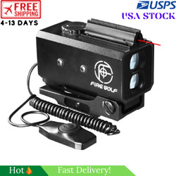 Mini Laser Infrared Rifle Scope Rangefinder For Hunting Shooting Distance Angle