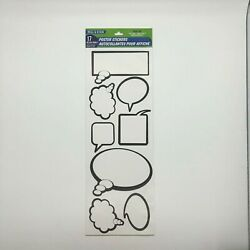 Peel amp; Stick 17 Message Bubbles Poster Stickers Removable Stickers
