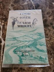 1958 Food And Cover For Farm Wildlife Life Pennsylvania Game Commission Catalog