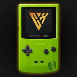 Gameboy Color Presidential Edition Green