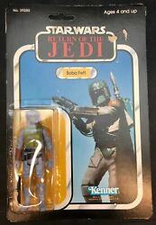 Kenner Old 36 / Action Figures Boba Fett Mount Photo Blue Sky 3.5 Inches