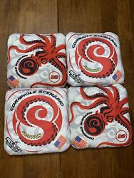 Cornhole Scenario Red And White Frictions. Acl Comp 2021-2022. Rare - New