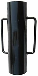 Mtb Fence Post Driver With Handle 34lb Black T Post Pounder Hand Post Rammer For