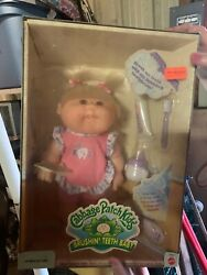 Cabbage Patch Kid. Blonde Hair. New In Box. Never Opened. Brushin' Teeth Baby.