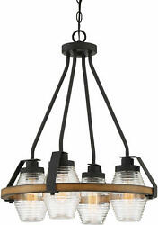 Quoizel Gui5120 Guilford 4 Light 20w Ring Chandelier - Multicolor