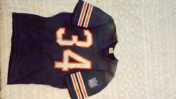 1960s Nfl Jersey Autograped By Walter Payton Chicago Bears