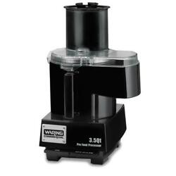 Waring - Wfp14sc - Food Processor W/3.5 Qt Bowl And Continuous Feed