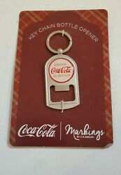 Coca Cola Key Chain Bottle Opener By Markings By C.r Gibson. New.
