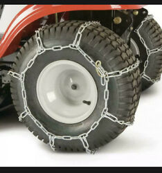 Tractor Tire Chains For 20 In. X 10 In. Wheels Set Of 2   Arnold Mower Steel