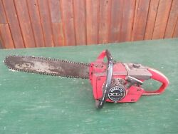 Vintage Homelite Xl1 Automatic Chainsaw Chain Saw With 16 Bar