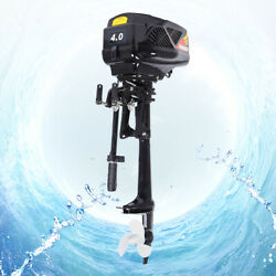 1000w 48v Electric Outboard Trolling Motor Fishing Boat Parts Engine 15 Km /h Us