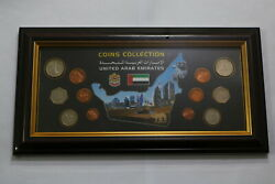 United Arab Emirates Coin Collection Framed B22 Avi
