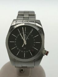 Christian Dior Self-winding Watch/siflu Rouge Gmt/analog/stainless/blk/slv