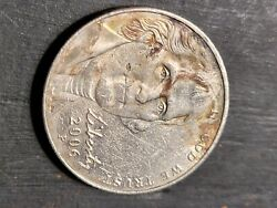2006 Nickel P And D Restamp Errors Everywhere. Demonic 1 Black And 1 Gold Eye