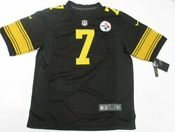 Ben Roethlisberger 7 Pittsburgh Steelers Game Team Color Rush Jersey