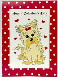 50 Piece Folding Happy Valentineand039s Cards W/ White Envelopes Tolove Fromanyone