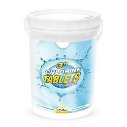 Pool Care 3 Inch Chlorinating Tablets - 25 Pound