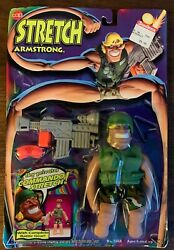 Cap Toys 1994 Commando Stretch Armstrong 6 Action Figure Complete Battle Gear
