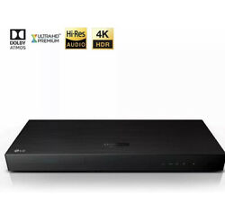 Lg Electronics Up970 4k Ultra-hd 3d Blu-ray And Dvd Player And Hdr Compatibility