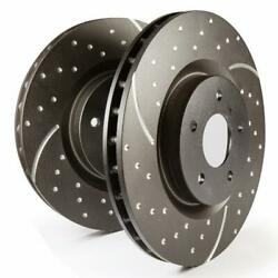 Disc Brake Rotor Gd Sport Rotors Wide Slots For Cooling To Reduce Temps Prevent