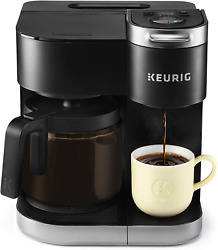 Keurig K-duo Coffee Maker, Single Serve And 12-cup Carafe Drip Coffee Brewer, Co