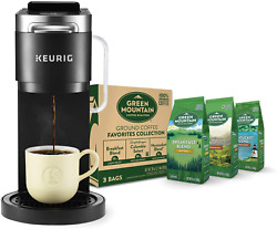 Keurig K-duo Plus Coffee Maker, Single Serve K-cup Pod And 12 Cup Carafe Brewer,