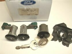 Black Tailgate And Door Locks Ford Full Size Bronco 78 - 96 Electric Back Window